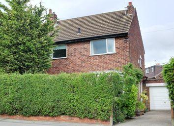 Thumbnail 3 bed semi-detached house for sale in Harlow Avenue, Harrogate