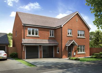 "Thumbnail 5 bedroom detached house for sale in ""The Compton"" at Castle Road, Cottingham"