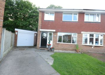 Thumbnail 3 bed semi-detached house for sale in Trispen Close, Halewood, Liverpool