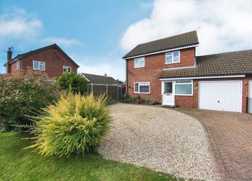 Thumbnail 3 bed link-detached house for sale in Farrow Close, Swanton Morley, Dereham