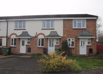 Thumbnail 2 bed terraced house for sale in Chequers Close, Hereford