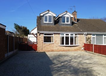 Thumbnail 4 bed bungalow to rent in Keats Close, Enderby, Leicester