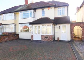 Thumbnail 4 bed semi-detached house to rent in Oxbarn Avenue, Bradmore, Wolverhampton
