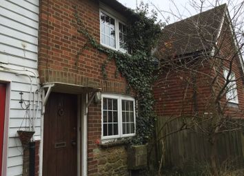 Thumbnail 2 bed cottage to rent in High Street, Westerham