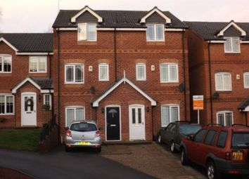 Thumbnail 3 bed town house to rent in Blackthorn Drive, Mansfield