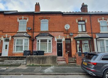 Thumbnail 3 bed terraced house to rent in Castleford Road, Sparkhill, Birmingham