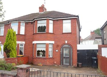 Thumbnail 3 bed semi-detached house for sale in Cardiff Road, Newport