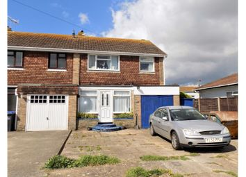 Thumbnail 3 bed end terrace house for sale in The Broadway, Lancing