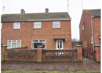 Thumbnail 2 bed semi-detached house for sale in Le Strange Avenue, King's Lynn