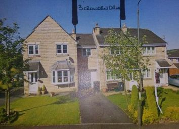 Thumbnail 3 bed terraced house to rent in Crowden Drive, Hadfield, Glossop, Derbyshire