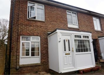 Thumbnail 4 bed end terrace house for sale in Hollyfield, Harlow