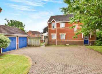 Thumbnail 4 bed detached house for sale in Churchfields, Hethersett, Norwich