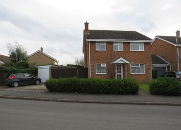 Thumbnail 4 bed detached house for sale in Church Close, Stilton, Peterborough