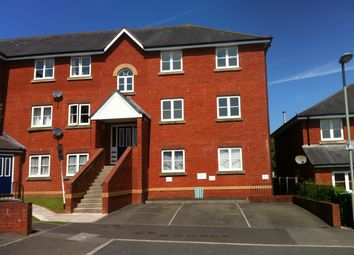 Thumbnail 2 bed flat to rent in Lewis Crescent, Exeter