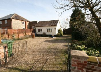 Thumbnail 2 bed detached bungalow for sale in The Street, North Lopham, Diss