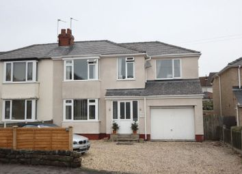 Thumbnail 4 bed semi-detached house for sale in Whitfield Lane, Heswall, Wirral