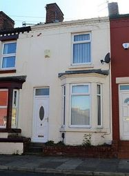 Thumbnail 2 bed terraced house to rent in Parkside Road, Tranmere, Wirral