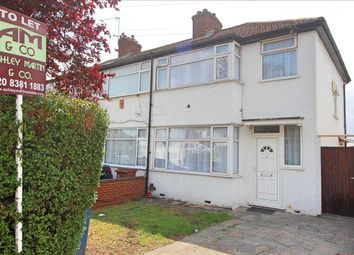 Thumbnail 3 bed semi-detached house to rent in Waltham Drive, Edgware