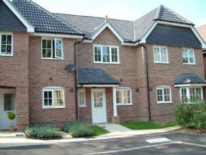 Thumbnail 2 bed terraced house to rent in Kings Glade, Yateley