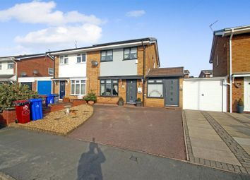 Thumbnail 3 bed semi-detached house for sale in Newborough Close, Birches Head, Stoke-On-Trent