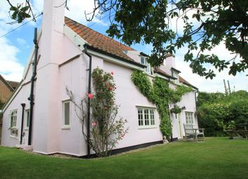 Thumbnail 3 bed cottage for sale in Rede, Bury St Edmunds, Suffolk