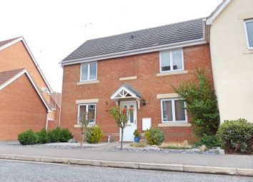 Thumbnail 3 bed semi-detached house for sale in Daymond Street, Sugar Way, Peterborough
