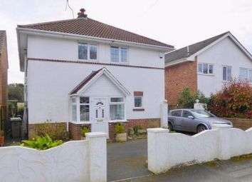 Thumbnail 4 bed detached house for sale in Redhill Drive, Bournemouth