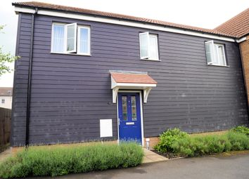 Thumbnail 2 bedroom flat for sale in Rusmeadow Crescent, Downham Market