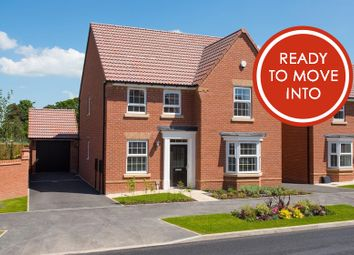 "Thumbnail 4 bed detached house for sale in ""Holden"" at Burnby Lane, Pocklington, York"