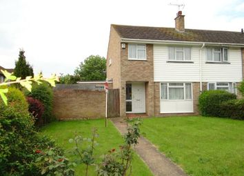 Thumbnail 3 bed end terrace house for sale in Bramshaw Road, Canterbury, Kent