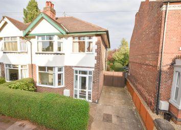 Thumbnail 3 bed semi-detached house for sale in Julian Road, West Bridgford, Nottingham
