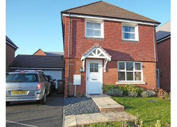 Thumbnail 4 bed detached house for sale in Lords Way, Andover