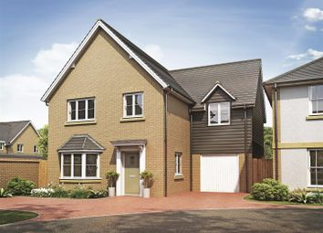 Thumbnail 4 bed detached house for sale in Harvester Close, Garden Walk, Royston