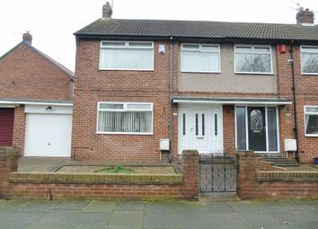 Thumbnail 3 bed semi-detached house for sale in Verne Road, North Shields