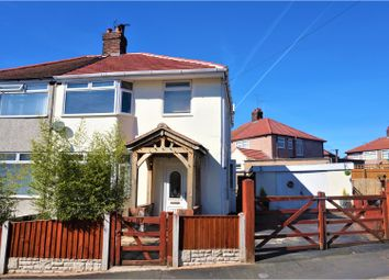 Thumbnail 3 bed semi-detached house for sale in Pen Y Maes Gardens, Holywell