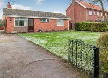 Thumbnail 2 bed detached bungalow for sale in Mill Road, Thorpe Abbotts, Diss