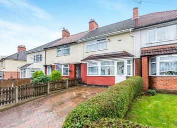 Thumbnail 3 bedroom terraced house for sale in Cleeve Road, Yardley Wood, Birmingham