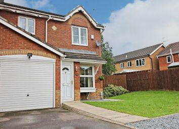 Thumbnail 3 bedroom semi-detached house for sale in Lavender Close, Kingswood, Hull