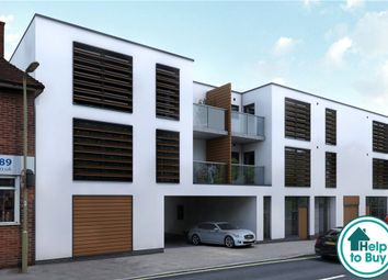 Thumbnail 2 bed flat for sale in Church Court, Branksomewood Road, Fleet