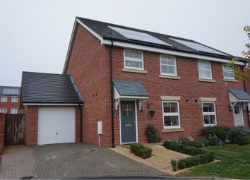 Thumbnail 3 bed semi-detached house for sale in Thapa Close, Fleet