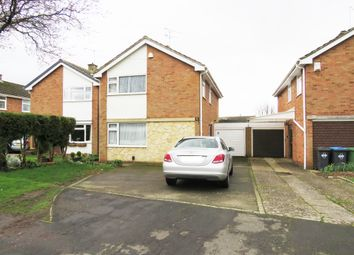 Thumbnail 4 bed detached house for sale in Wolsey Road, Rugby