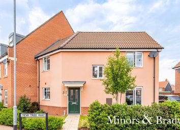 Thumbnail 3 bed end terrace house for sale in Yew Tree Way, Dereham