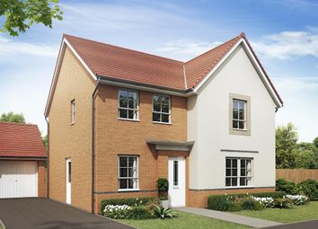 "Thumbnail 4 bed detached house for sale in ""Radleigh"" at Birmingham Road, Bromsgrove"