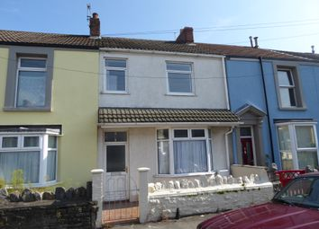 Thumbnail 3 bed terraced house to rent in Argyle Street, Sandfields, Swansea
