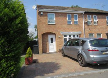 Thumbnail 3 bed semi-detached house to rent in Millstream Close, Creekmoor, Poole