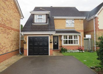 Thumbnail 4 bedroom detached house for sale in Cobblestone Court, Northampton
