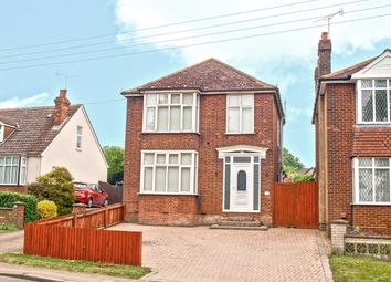 Thumbnail 3 bed detached house for sale in Chapel, Hollow Road, Bury St. Edmunds