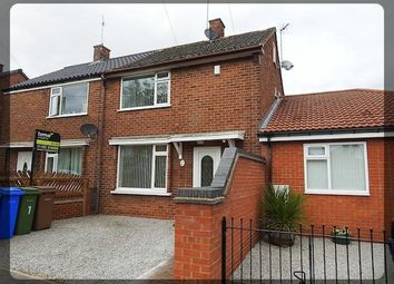 Thumbnail 2 bed terraced house to rent in Vaughan Road, Hessle