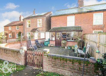 Thumbnail 3 bed cottage for sale in The Common, Somerleyton, Lowestoft.