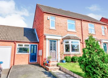 Thumbnail 3 bed semi-detached house for sale in Robinia Close, Leamington Spa